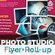 Photography Flyer & Roll-Up Banner