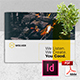 Creative Brochure Template Vol. 21 - A4 Landscape - GraphicRiver Item for Sale