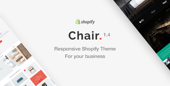 Image of Chair - Responsive Shopify Theme