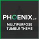 Phoenix - Flexible Multipurpose Business Tumblr Theme Nulled