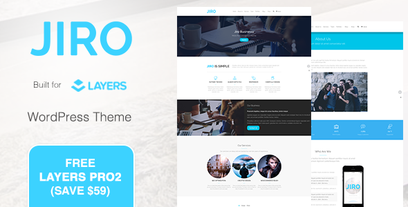 JIRO | MultiPurpose Business WordPress Theme by PalaBari | ThemeForest