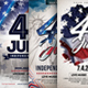 4th of July - Independence Day Flyer Bundle