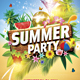 Summer Party / Summer Beach Party - GraphicRiver Item for Sale