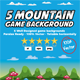 Game Background Mountain - GraphicRiver Item for Sale