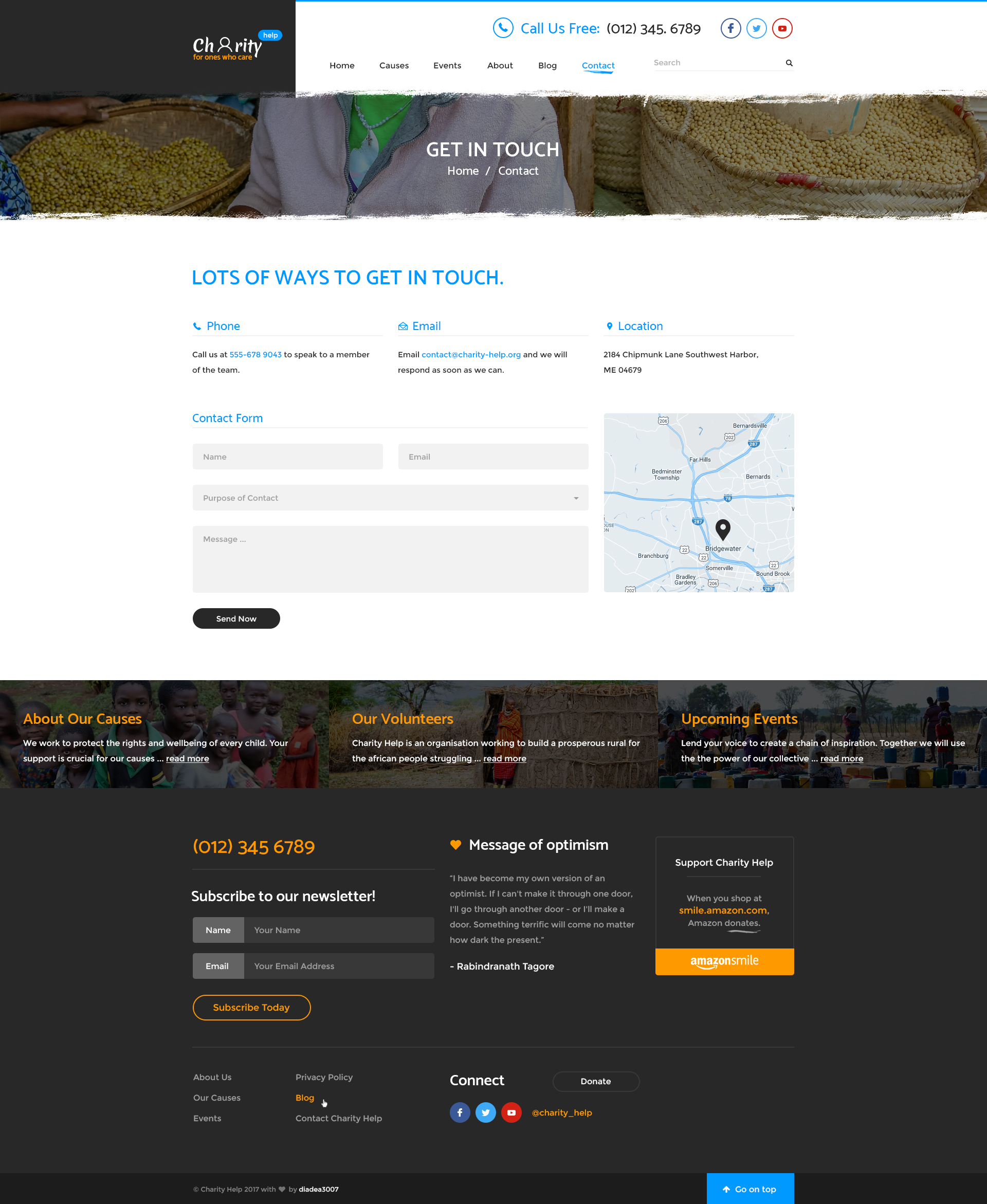 charity help ngo charity fundraising psd template