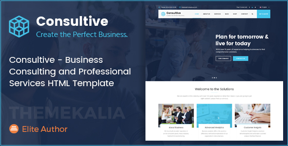 Consultive - Business Consulting and Professional Services HTML Template