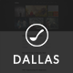 Dallas - Text Based Responsive WordPress Blog Theme - ThemeForest Item for Sale