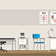 Illustration of a Doctor Office - GraphicRiver Item for Sale