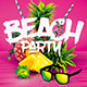 Summer Beach Party - Package