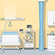 Illustration an Intensive Care Unit - GraphicRiver Item for Sale