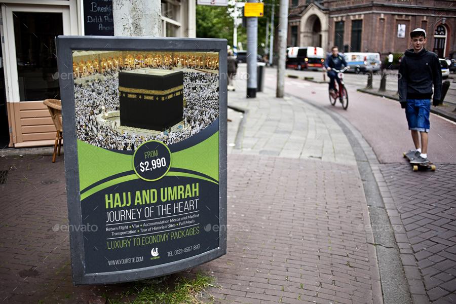Umrah Banner: Hajj And Umrah Advertising Bundle By OWPictures