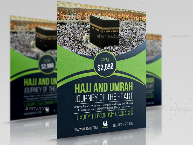 Umrah Banner: Hajj And Umrah Advertising Bundle By OWPictures
