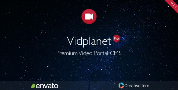Vidplanet Video Cms Pro Version - CodeCanyon Item for Sale