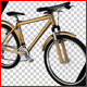 Golden Bicycle - VideoHive Item for Sale