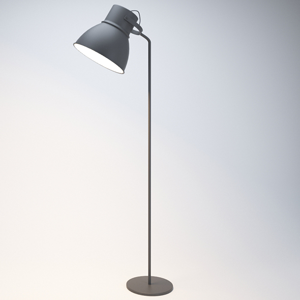 Modern Floor Lamp - 3DOcean Item for Sale
