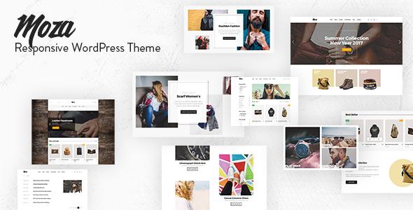Moza - Minimal WooCommerce WordPress Theme - WooCommerce eCommerce