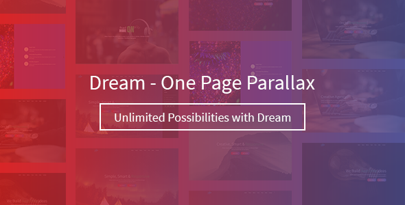 Dream – One Page Parallax