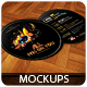 Round Flyers - Mockups - GraphicRiver Item for Sale