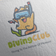 Diving Club Logo Design - GraphicRiver Item for Sale