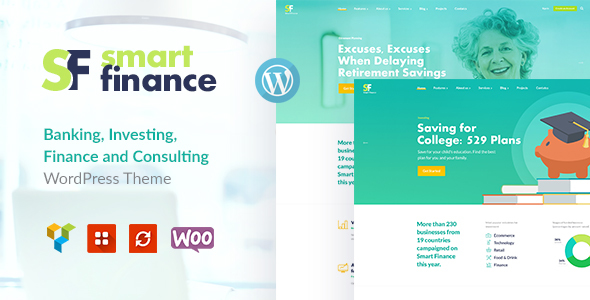 Smart Finance | Accounting & Tax Help WP Theme - Business Corporate