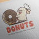 Sweet Donuts Logo Design - GraphicRiver Item for Sale
