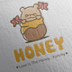 Honey Bear Logo Design - GraphicRiver Item for Sale