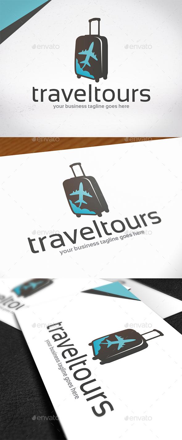 Plane Travel Tours Logo - Symbols Logo Templates