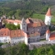 Aerial View of Medieval Castle Krivoklat in Czech Republic - VideoHive Item for Sale