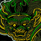 Thunder God Raijin - GraphicRiver Item for Sale