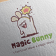 Magic Bunny Logo Design - GraphicRiver Item for Sale