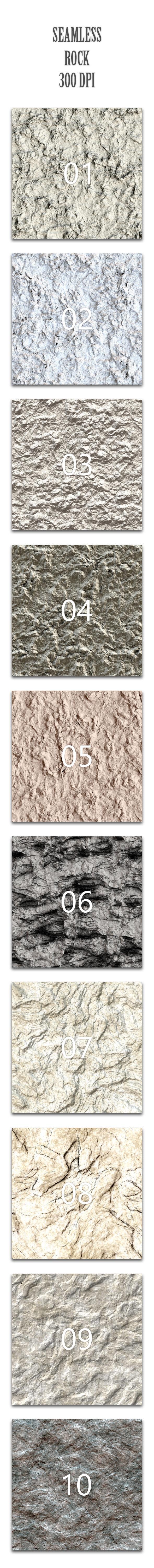Seamless Rock - Nature Textures / Fills / Patterns