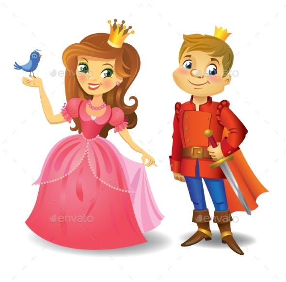 Princess and Prince - People Characters