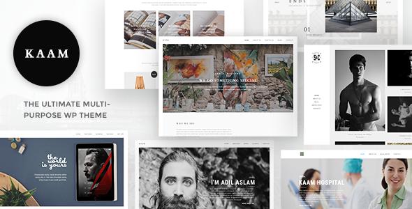 Kaam - Responsive Ajax Creative Theme - Creative WordPress