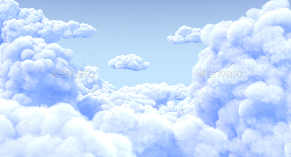 Clouds - Miscellaneous 3D Renders