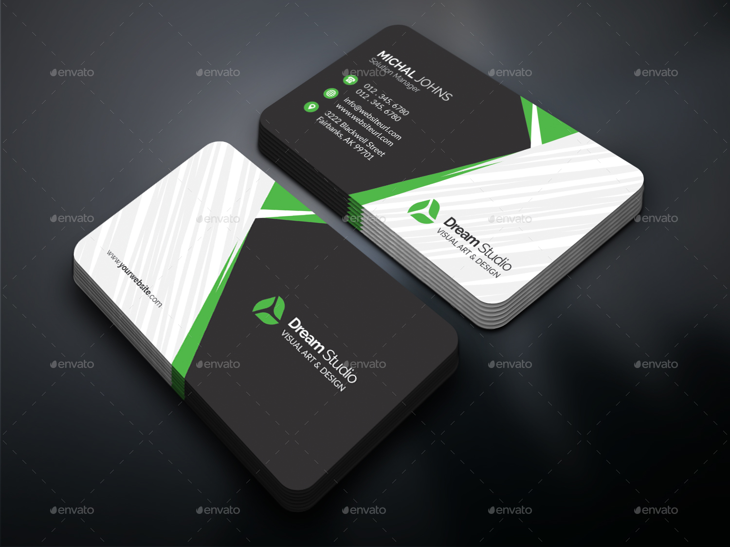 Business cards by dreamstudio eg graphicriver preview image setpreview01g reheart Gallery