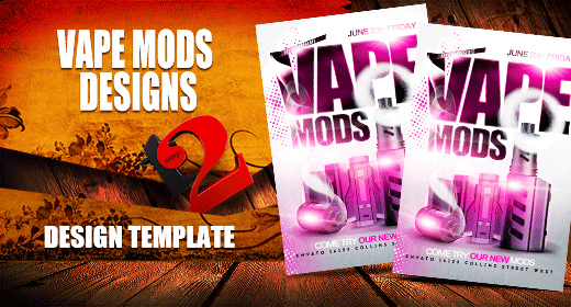 Vape Mods design Template