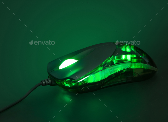 optical mouse - Stock Photo - Images