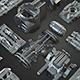 Tech Heavy Kit Bash 200+ Elements