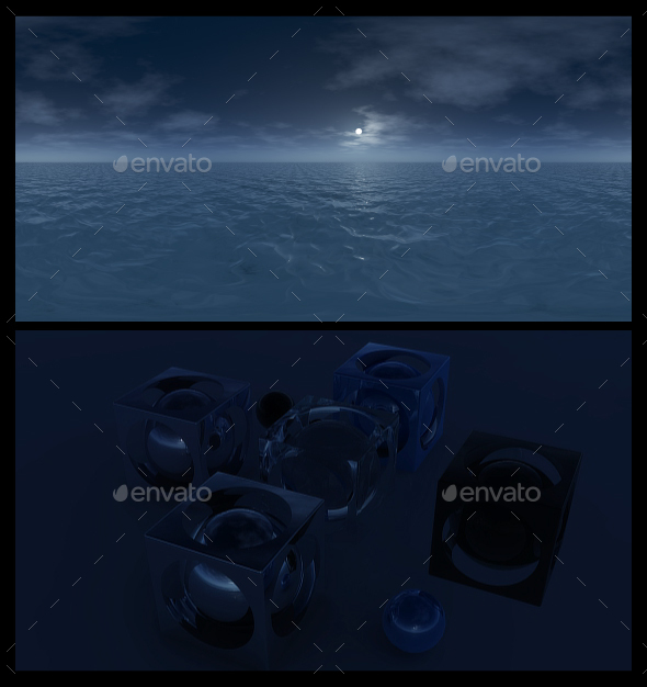 Ocean Night 5 - HDRI - 3DOcean Item for Sale