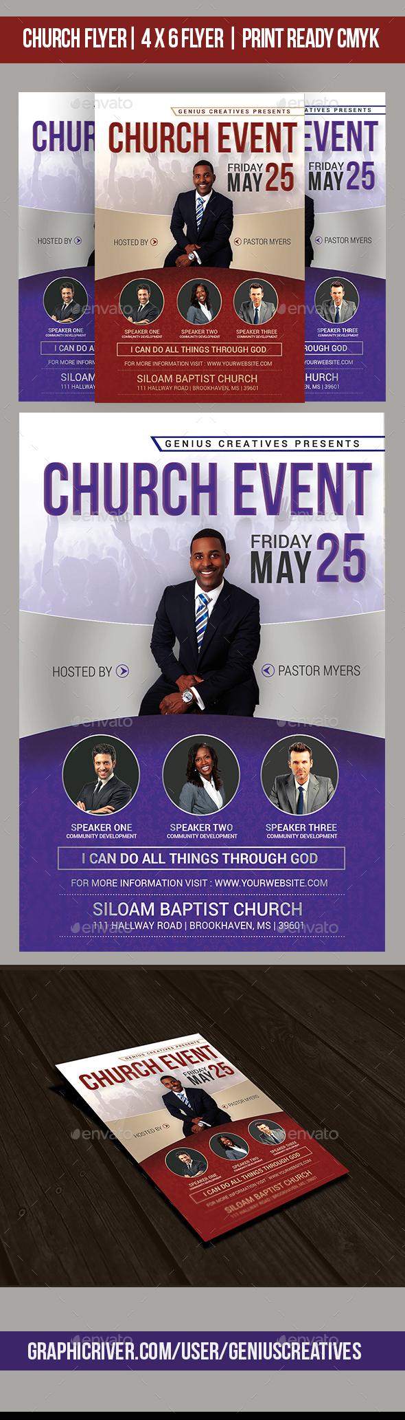 Church Event V3 - Church Flyers