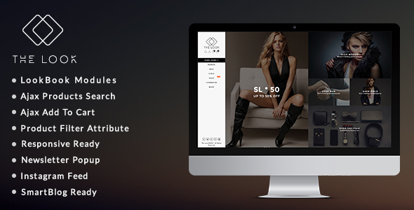 The Look – Clean, Responsive Fashion Boutique Prestashop Theme
