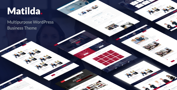 Matilda – Multipurpose WordPress Business Theme