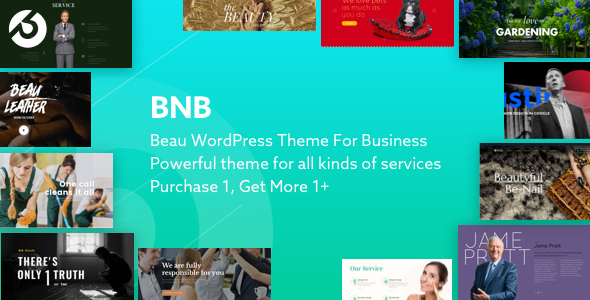 BnB Multi-Purpose WordPress Theme for Business