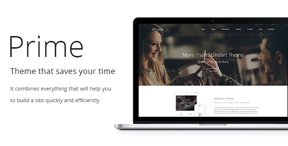 Prime | WordPress Theme - Corporate WordPress