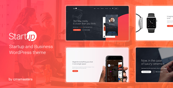 Startup Company - WordPress Theme for Business  Technology - Technology WordPress