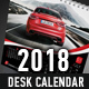 2018 Desk Calendar Template - GraphicRiver Item for Sale