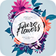 Pure Flowers CD Cover Artwork - GraphicRiver Item for Sale