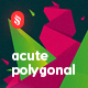 Acute Polygonal Backgrounds - GraphicRiver Item for Sale