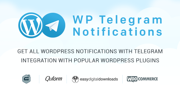 Wordpress Telegram Notifications - CodeCanyon Item for Sale