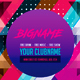 Colorful Geometric Party Flyer Template - GraphicRiver Item for Sale